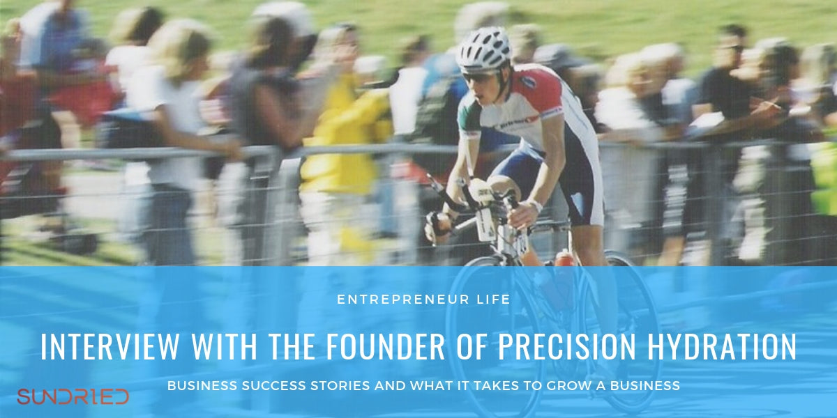 Precision Hydration founder Andy Blow interview with Sundried