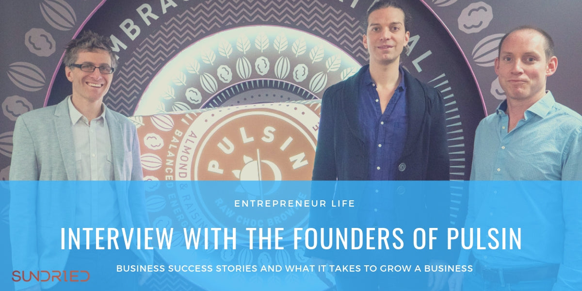 entrepreneur life interview with the founders of Pulsin