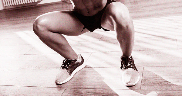 Squats - one of the causes of DOMS
