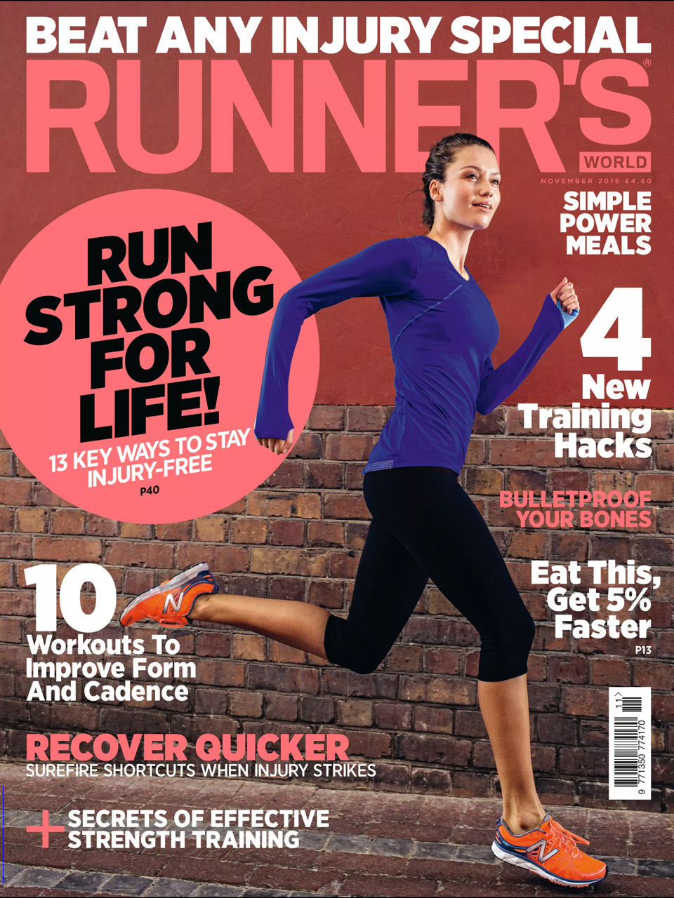 Runners World November 2016