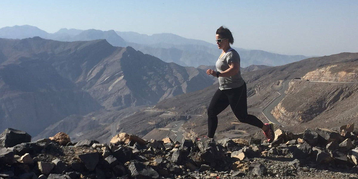 Sarah Outen MBE Adventurer Running