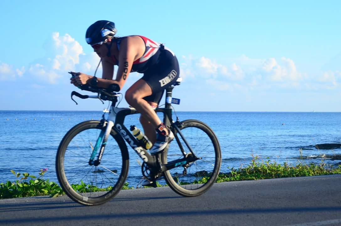 Sophie Kirk Triathlete Cycling