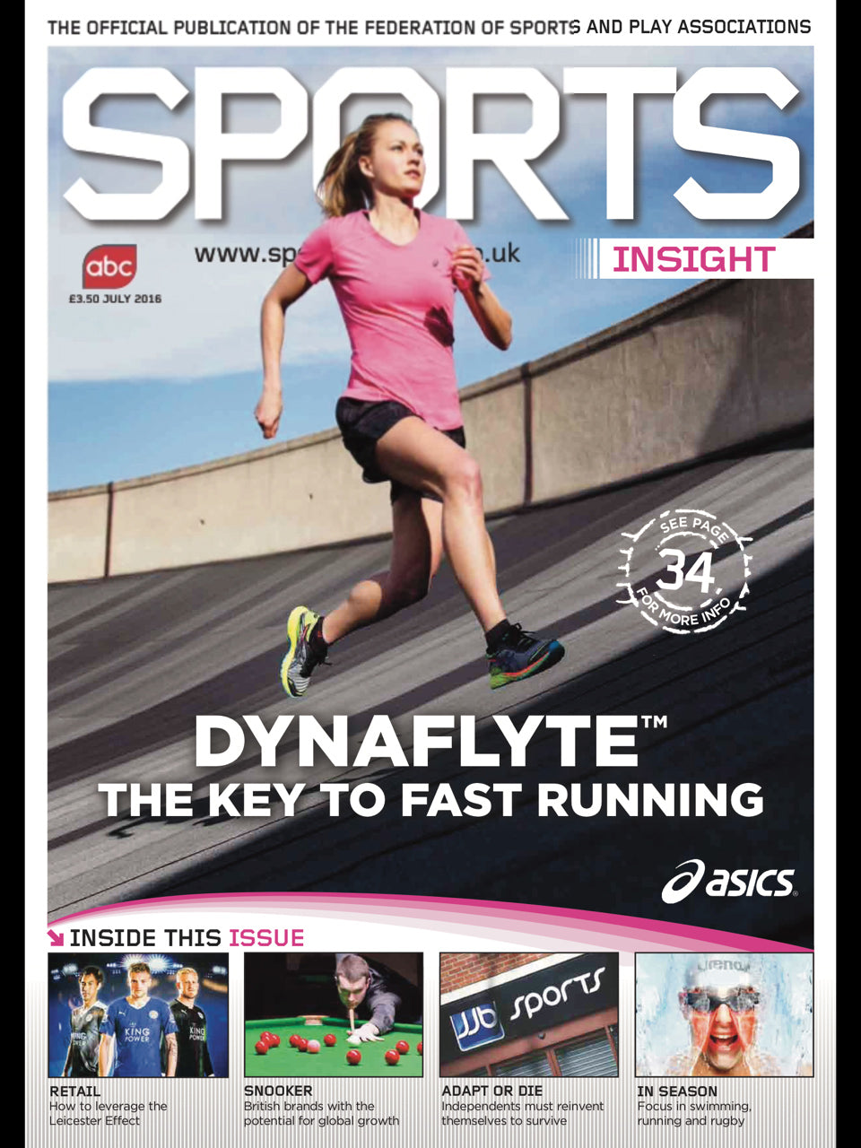 Sports Insight Magazine July 2016