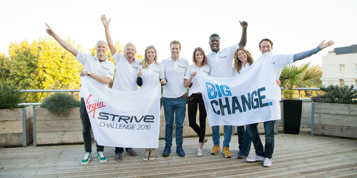 Virgin Strive Challenge 2016 Launch charity fundraising cycle sport