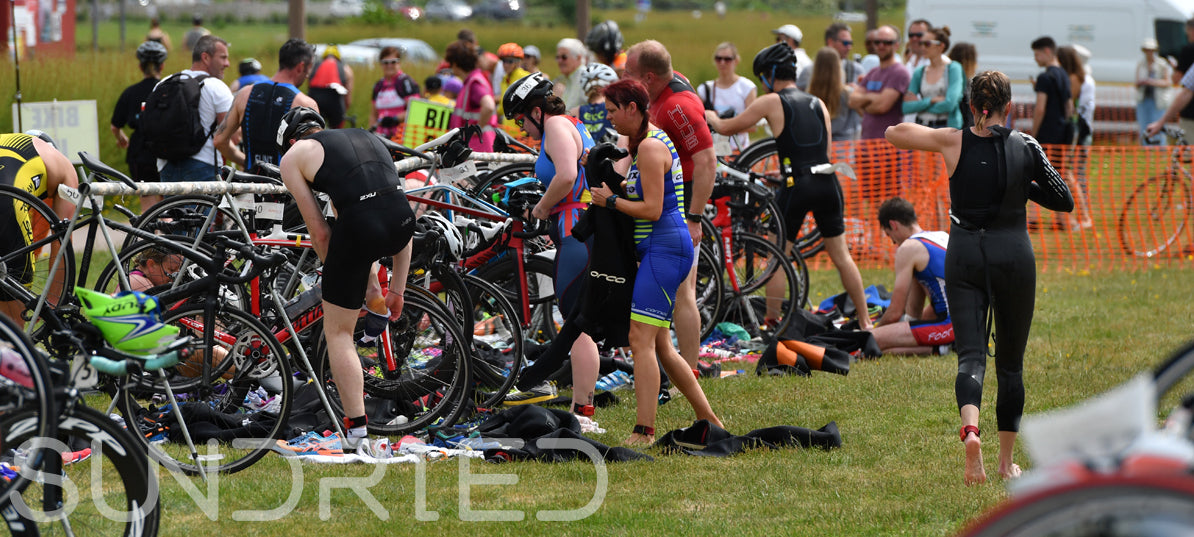 Sundried Southend Triathlon Training Event Transition