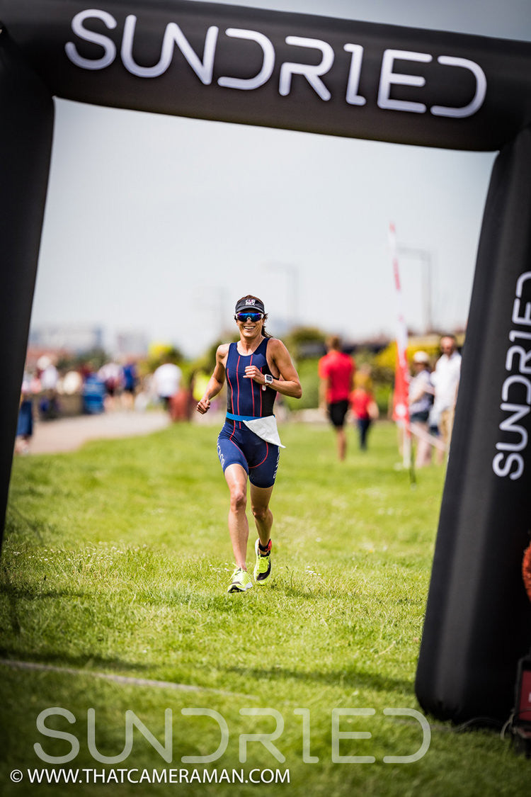 Sundried Southend Triathlon Fastest Woman Finisher Winner Alice Hector