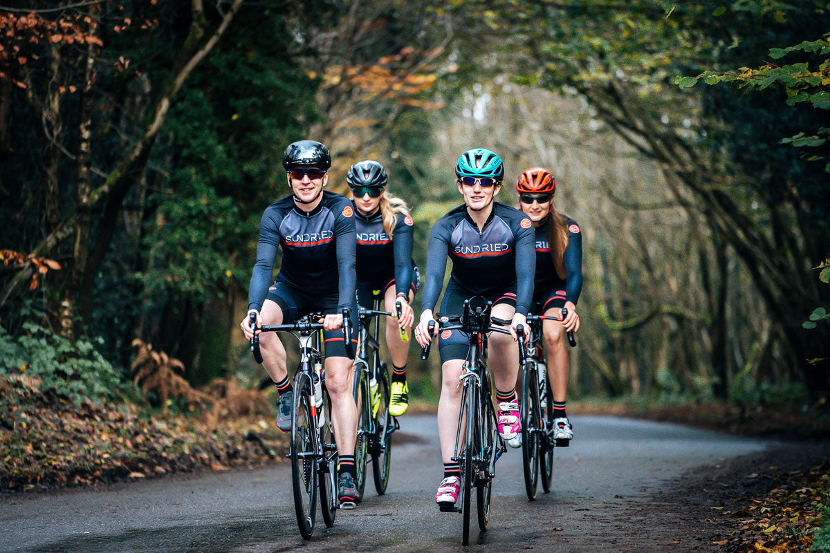 Sundried activewear women's cycling team