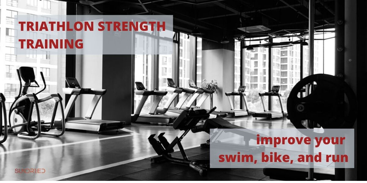 triathlon strength training improve swim bike run
