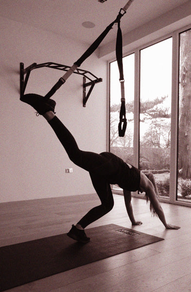 TRX Handstand Starting Position