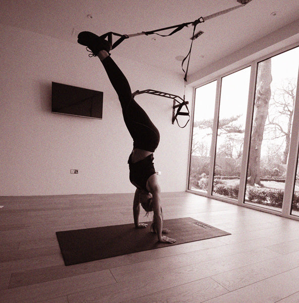 TRX Handstand Body Upright