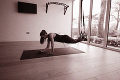 TRX Plank Up Downs