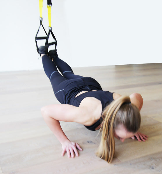 Pressup Position TRX Training