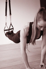 TRX Push Up to Shoulder Tap Hand Starting to Move