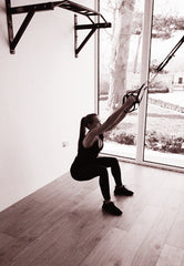 TRX Squat to Star Starting Position