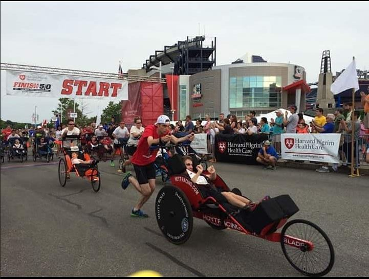 Team Rusty Running Wheelchair Racing