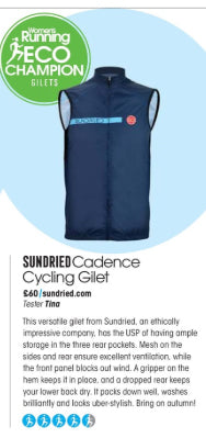 Sundried Eco Running Gilet
