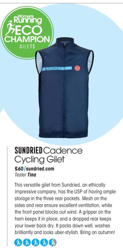 Sundried Gilet in Womens Running
