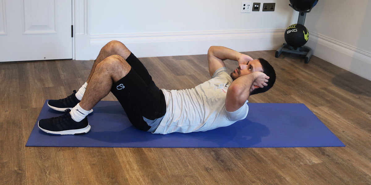 sit ups strength training