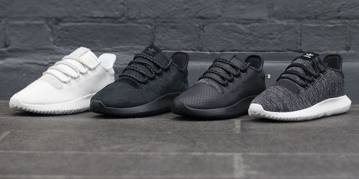 Adidas Originals Tubular Shadow Knit Trainers Shoes Sundried