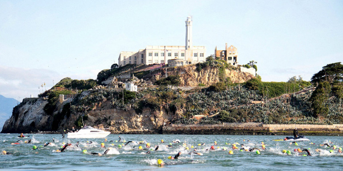 Escape from Alcatraz Triathlon, California