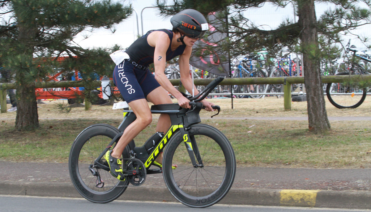 Alice Hector triathlon bike cycling