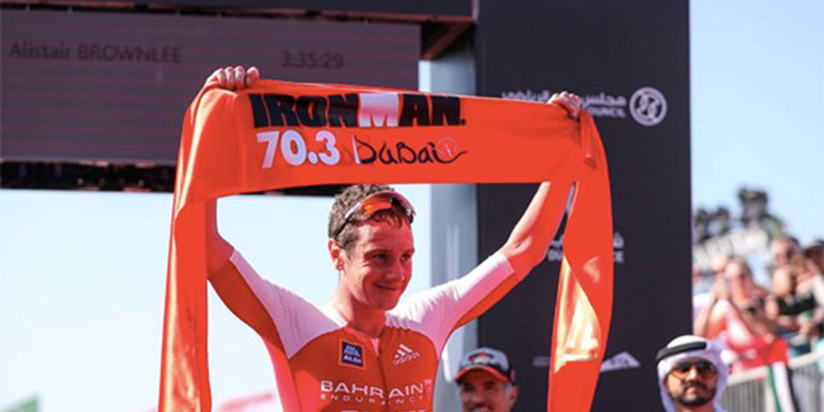 Alistair Brownlee Ironman 70.3 Dubai Splits Times Sundried