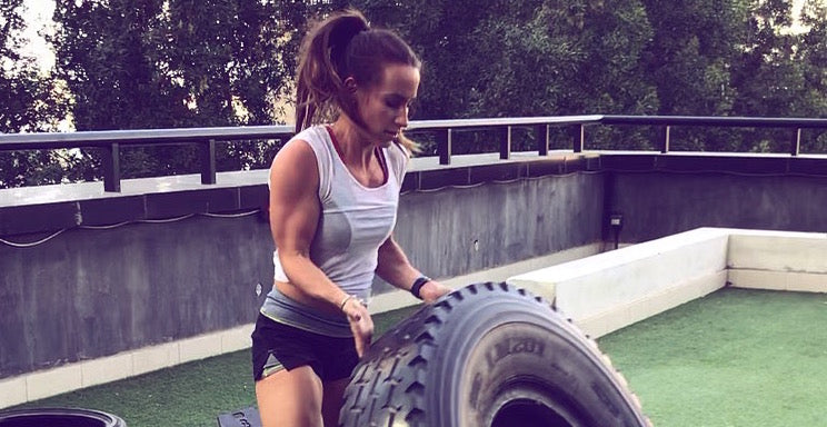 Anna Holmes Strength Training Strong Woman
