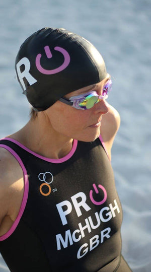 swimming triathlon athlete