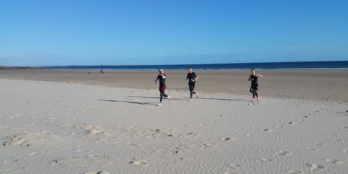 Bamburgh Half Ironman Triathlon