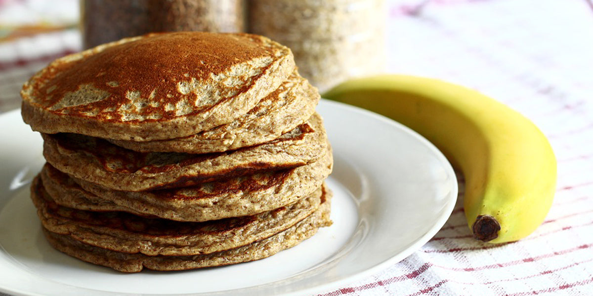 banana pancakes healthy