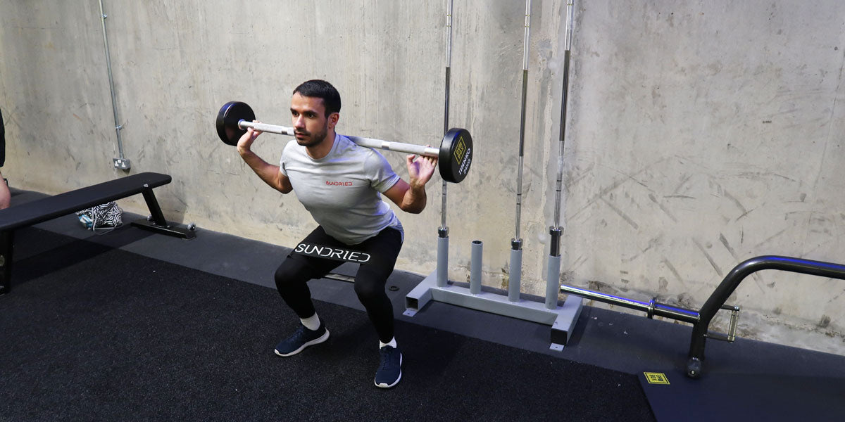 back squat resistance band workout runners