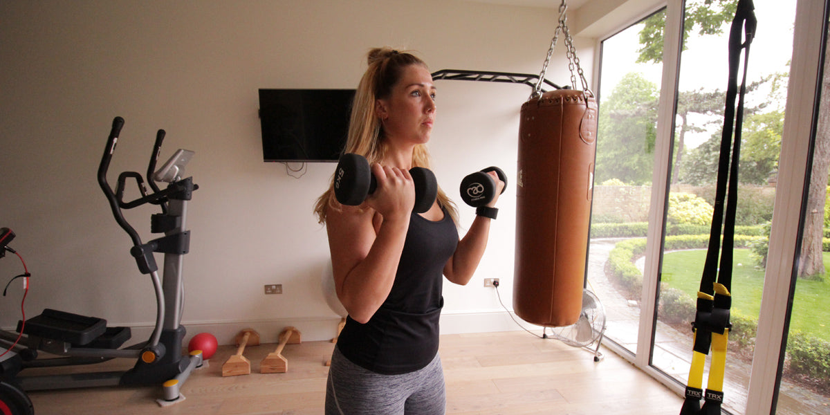Bicep curl strength training programme for men women