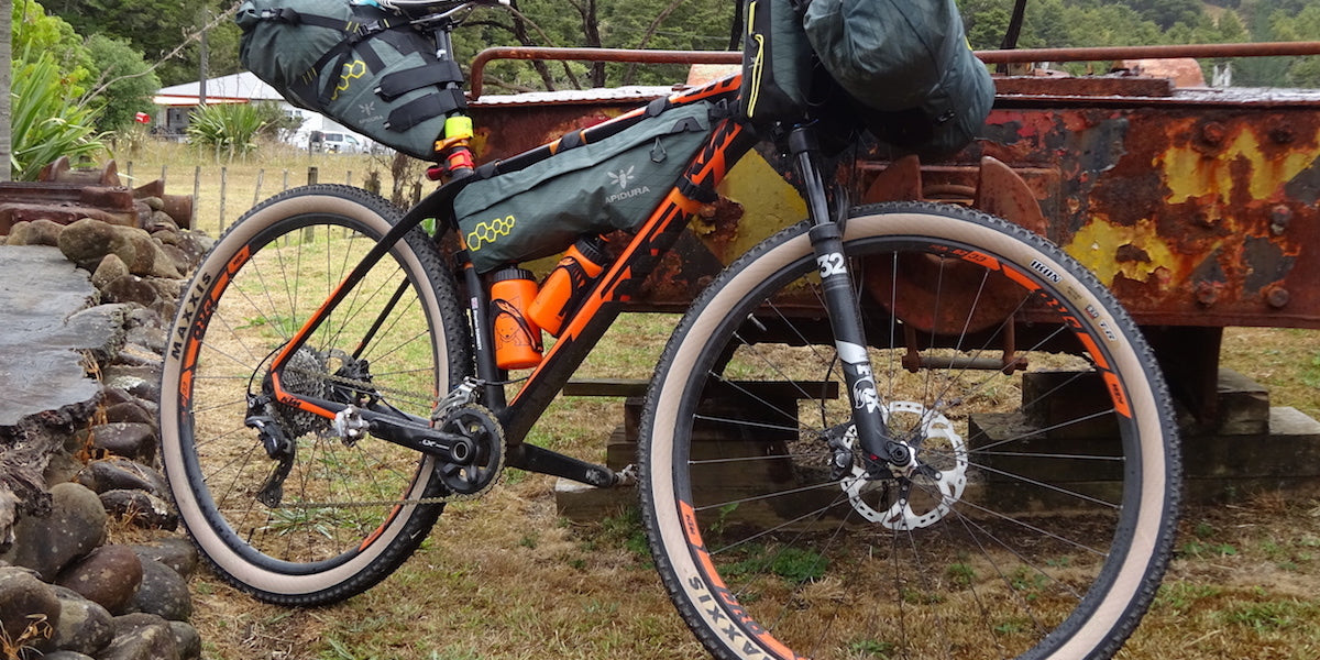 Sundried race report bike packing New Zealand