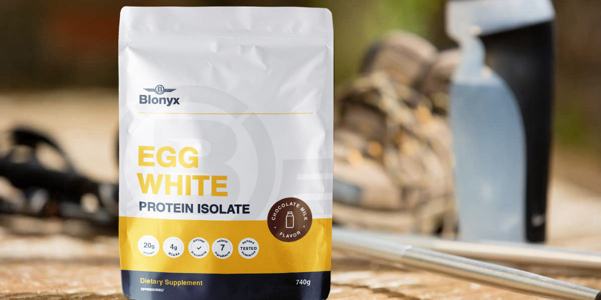 Blonyx Egg White Protein Supplement Training Weight Loss Review