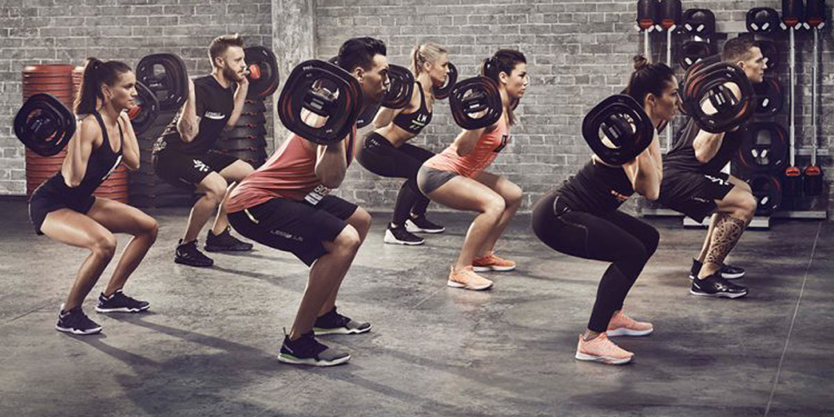 group training fitness Body Pump Les Mills