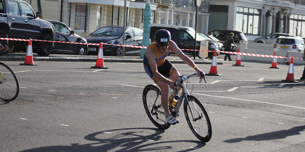 Brighton and Hove Triathlon Cycling Bike