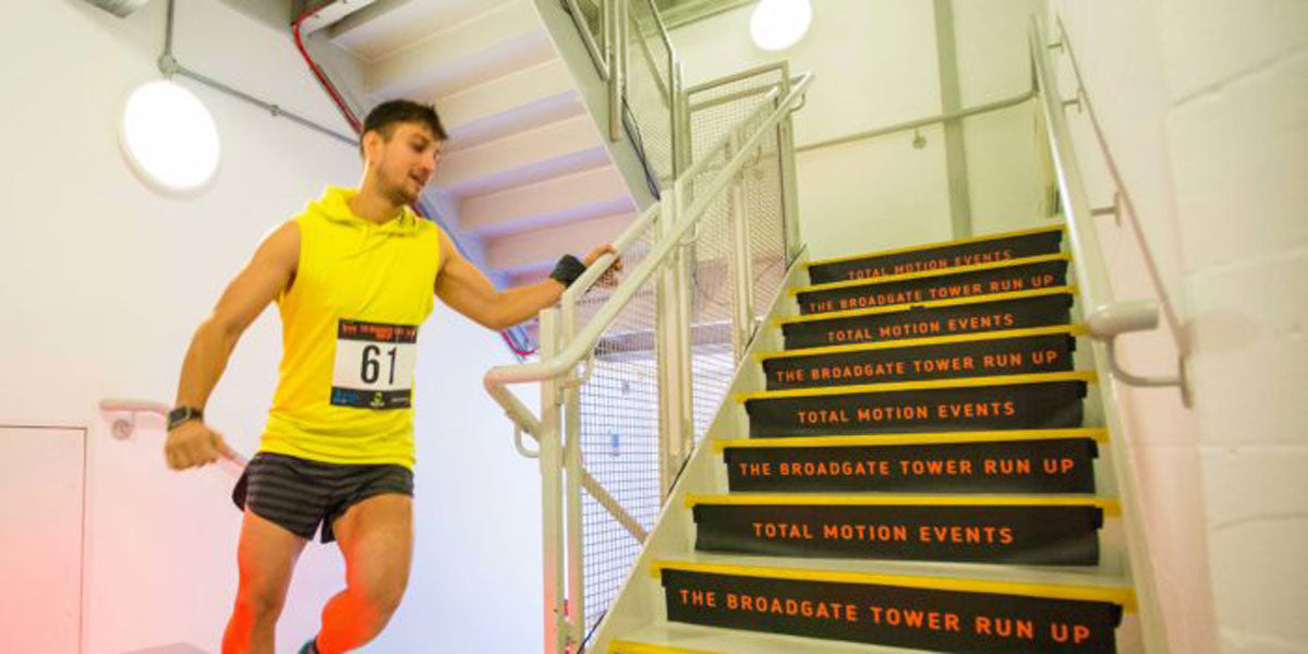 Broadgate Tower Run Up Event Total Motion Events London
