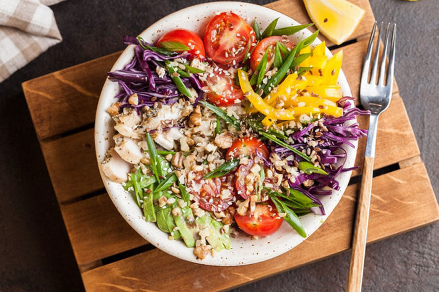 Buddha Bowl healthy vegan plant-based recipe