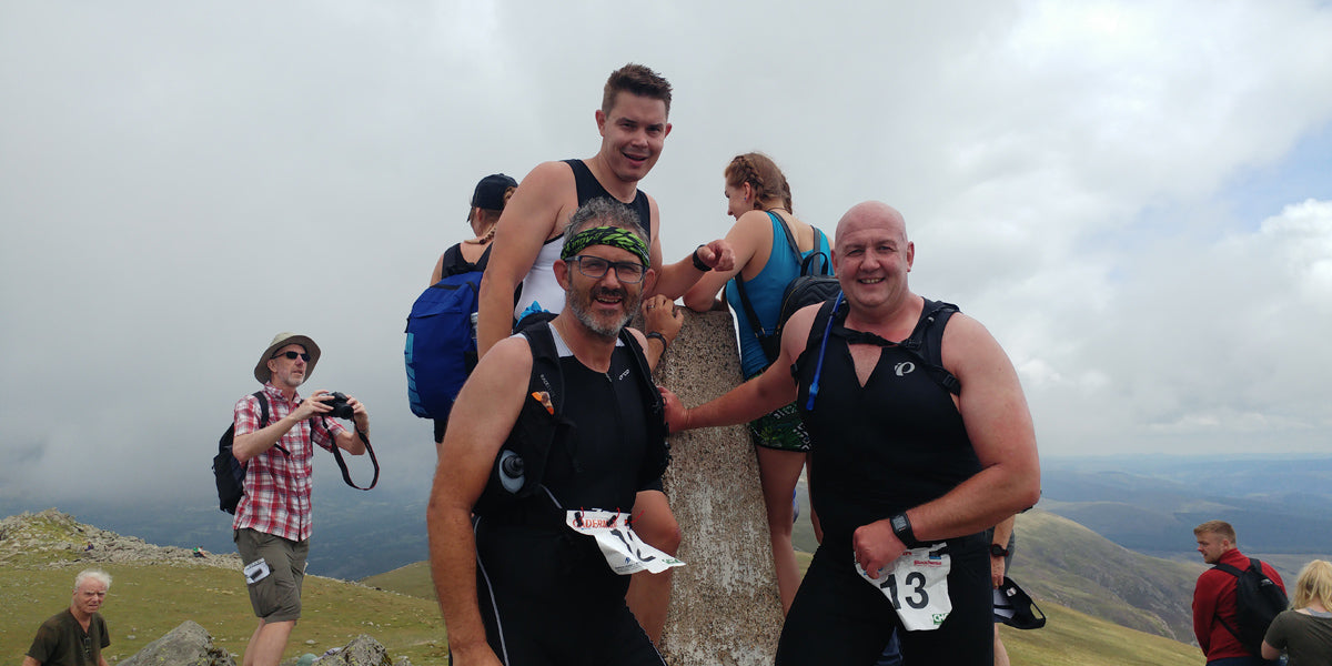 Caderman triathlon race 2018 report