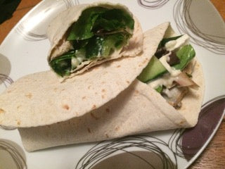 Pesto Chicken Wraps Protein Clean Eating