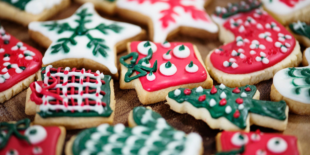 christmas cookies festive food