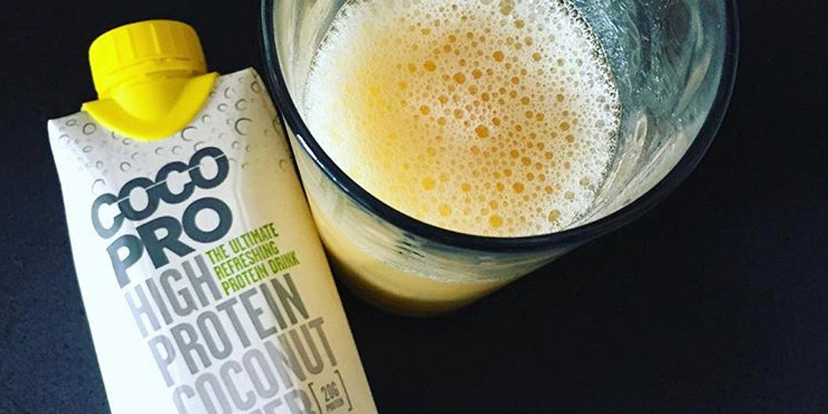 CocoPro high protein coconut water