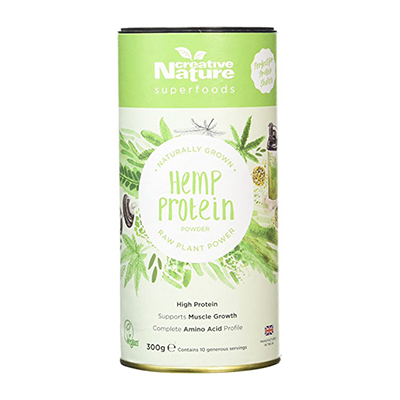 Creative Nature hemp protein vegan plant-based