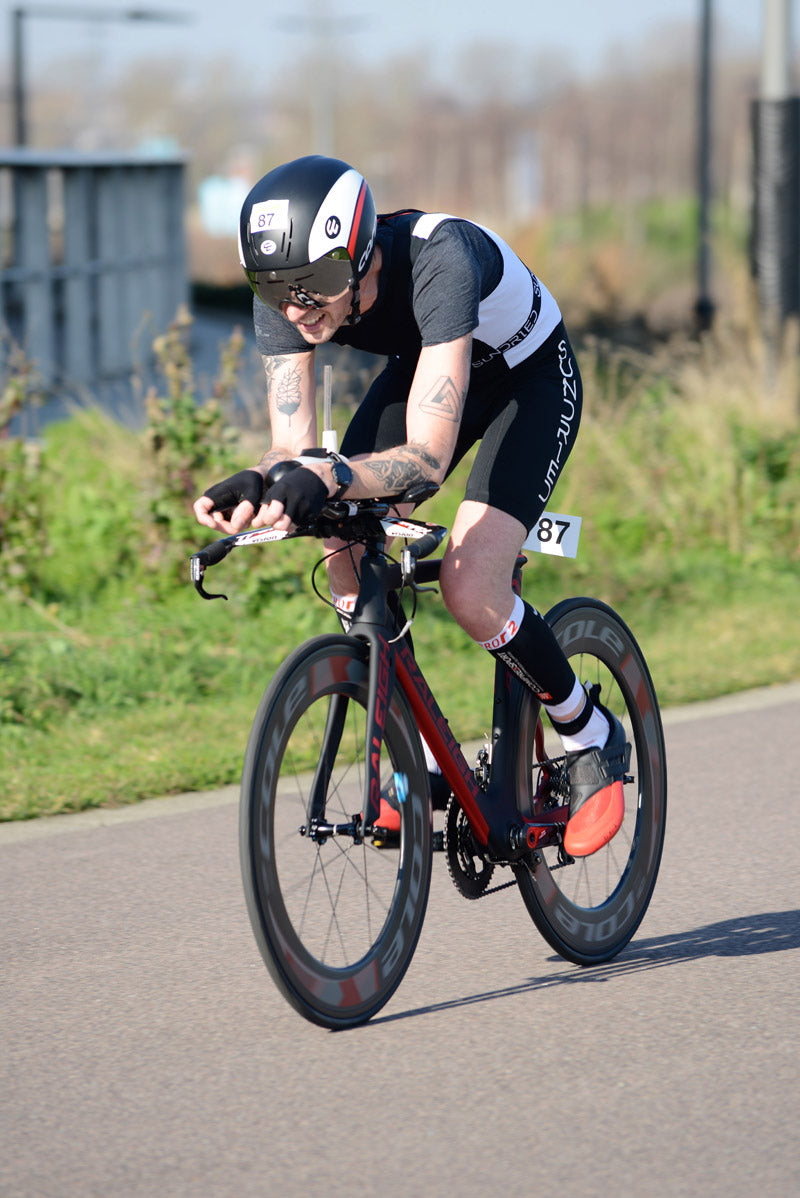 cycling duathlete TT bike racing