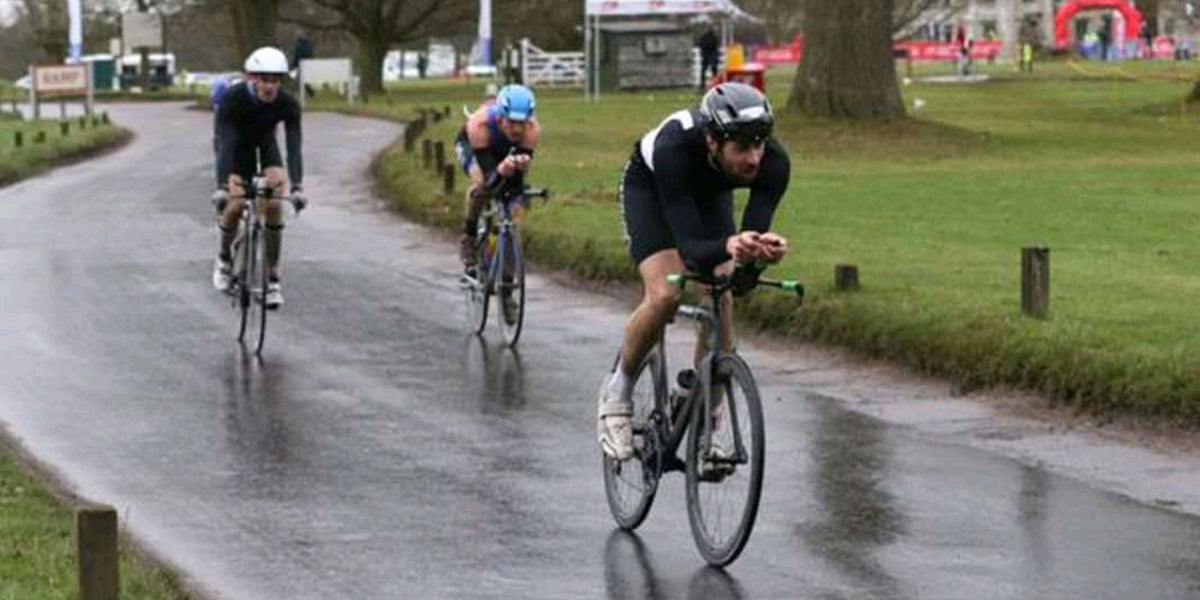 cycling duathlon race athlete