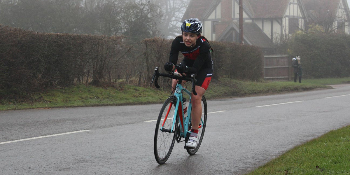 cycling duathlon winter race