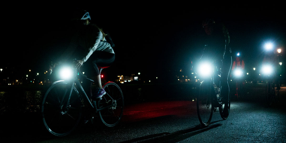 cycling night visibility bicycle lights