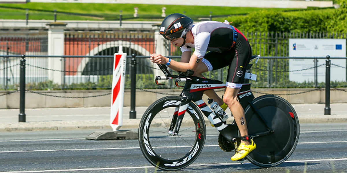 Sundried ambassador cycling triathlon Ironman