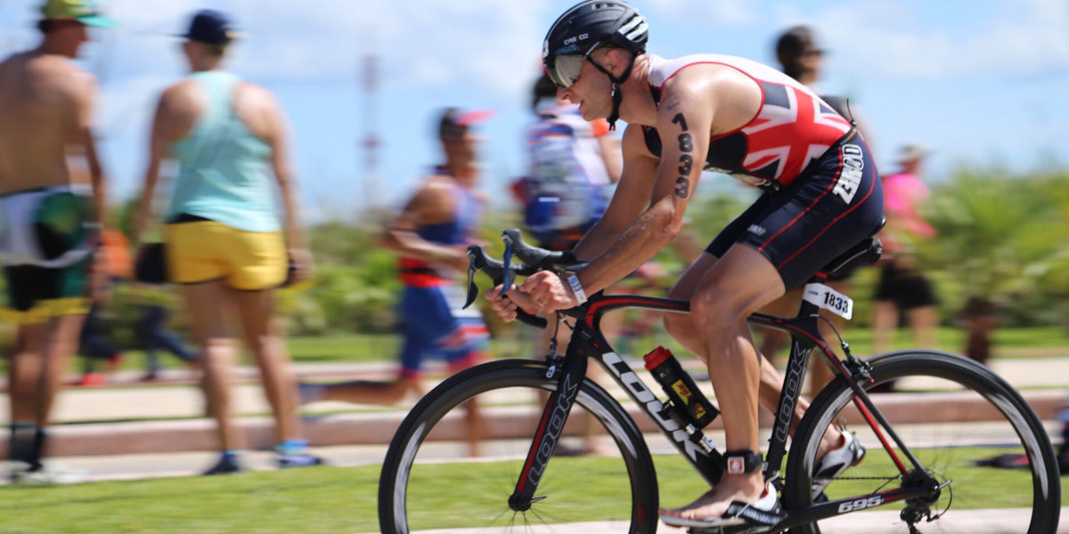 Leigh Harris cycling triathlon triathlete