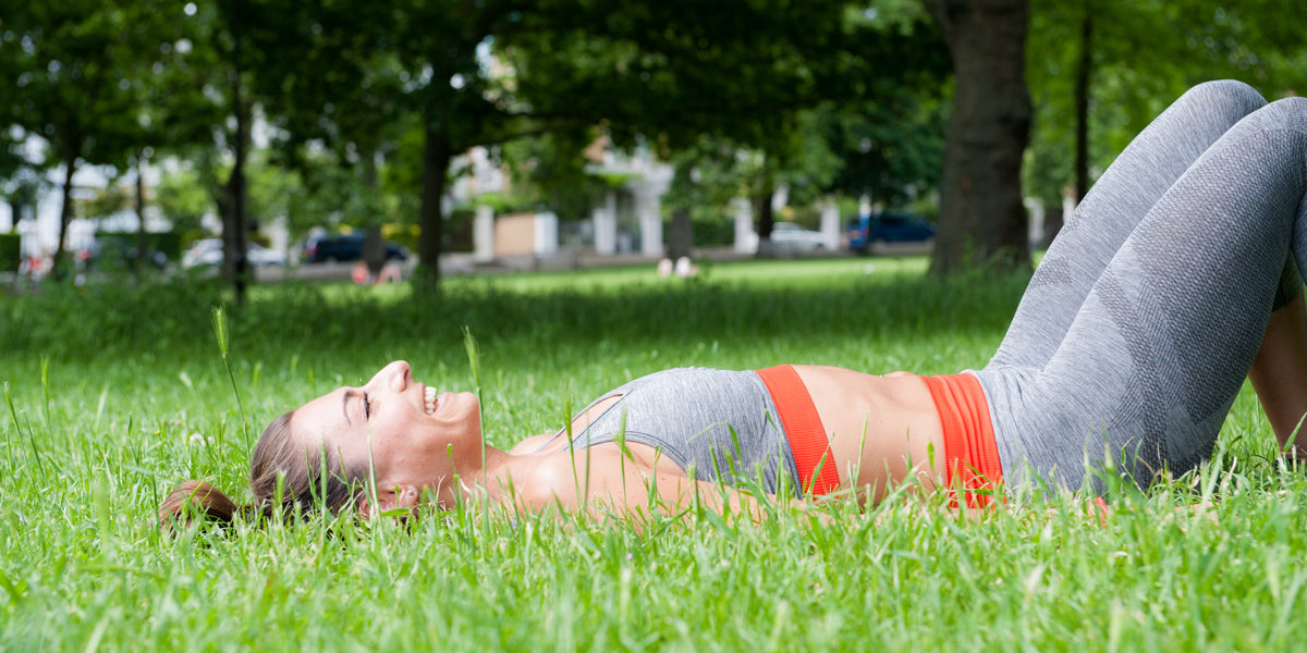 exercising with hayfever outdoors workout
